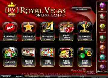 Royal Vegas hry